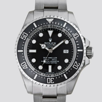 ROLEX Rolex sea-dweller deepsea 116660 black mens