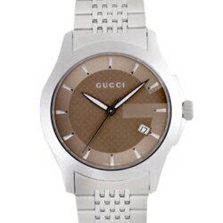 GUCCI Gucci YA126406 # 126 G timeless Brown mens