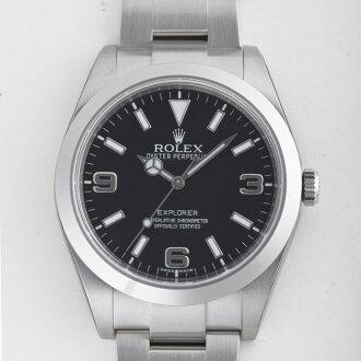 1 214270 ROLEX Rolex Explorer black men