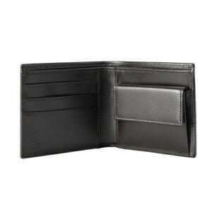 GUCCIグッチ237359F4C7R1000GGキャンバス二つ折り財布