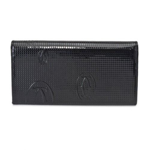【48時間限定ポイント5倍 5/21 9:59まで】Cartier カルティエ 財布 L3001284 ブラック ハッピー バースデイ