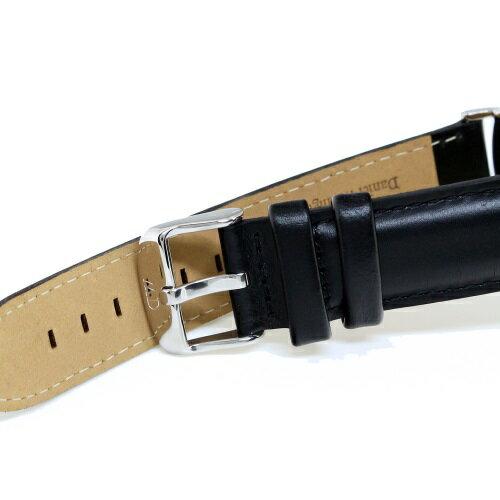 Daniel Wellington ダニエルウェリントン 腕時計 36MM 00100145DW Classic Black SHEFFIELD SILVER