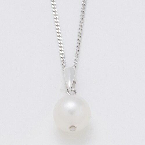 その他 あこや本真珠 ネックレス&イヤリング 大珠3点セット 約8.0-9.0mm 全長約42cm 鑑別書付