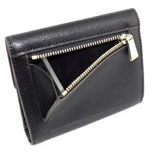 FURLAフルラ三つ折り財布レディースバビロンブラック921850PU11ONYX