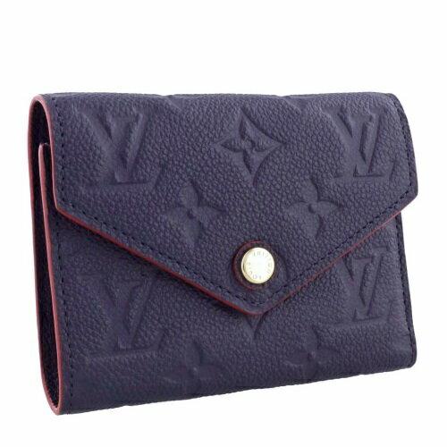 LOUIS VUITTON ルイヴィトン 三つ折り財布 ポルトフォイユ・ヴィクトリーヌ アンプラント M64577