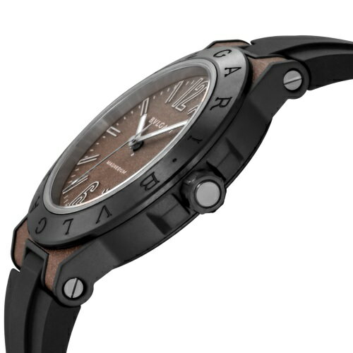 BVLGARI ブルガリ 腕時計 メンズ ディアゴノ マグネシウム グレー DG41C11SMCVD