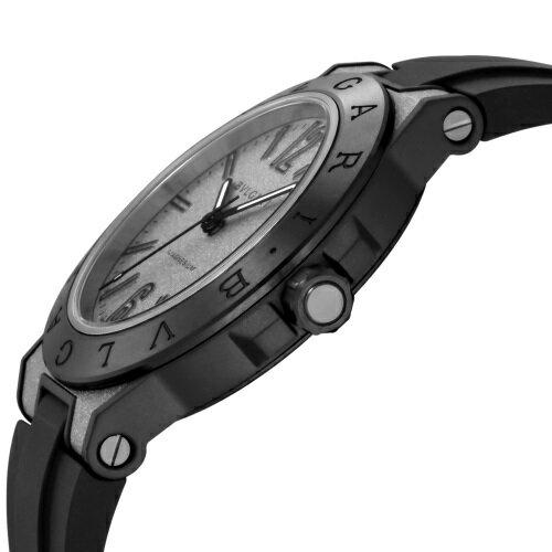 BVLGARI ブルガリ 腕時計 メンズ ディアゴノマグネシウム シルバー DG41C6SMCVD