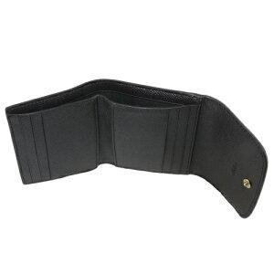 コーチアウトレットCOACH三つ折り財布レディースブラウンブラックF31969IMN2R
