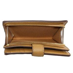 コーチアウトレットCOACH二つ折り財布レディースライトサドルゴールドF11484IMLQD