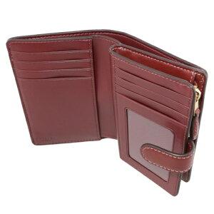 COACHOUTLETコーチアウトレット二つ折り財布カーキピンクマルチF78118IMLL9