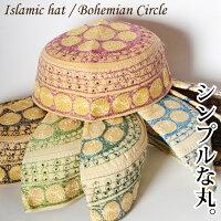帽子レディースメンズユニセックスキャップヘッドドレス飾りイスラム帽子▼