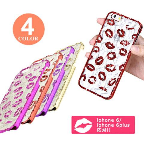 メール便送料無料!iPhone6s Plus iPhone6 Plus iPhone6s iPhone6 エレガントな唇柄のハードケース スマホケース スマホカバー ケース カバー(商品番号sa-10010)