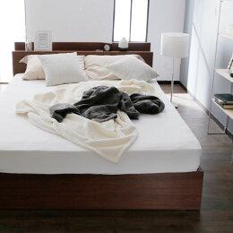 収納付ベッドマットレスセット