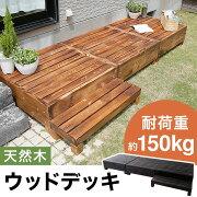 クーポン ガーデン ステップ 組み換え バルコニー エクステリア ブラウン ブラック オシャレ