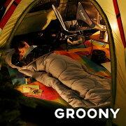 クーポン スリーピングバッグ シュラフ グルーニー キャンプ ツーリング アウトドア コンパクト