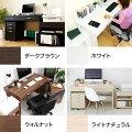 パソコンデスク/机/デスク/ラック付デスク(机)
