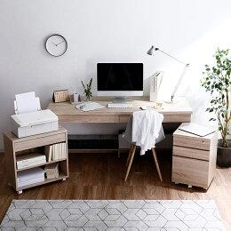 パソコンデスク、ラック付デスク(机)