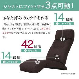 座椅子リクライニングハイバック