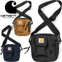 カーハート WIP Carhartt WIP I006285 ESSENTIALS BAG SMALL 1.7L エッセンシャル バッグ スモール ショルダー ポーチ スクエアロゴ ストリート ワーク イン プログレス メンズ レディース 撥水 防水 鞄 3カラー 国内正規