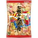 一度にいろんな味が楽しめます!【同梱・代引き不可】三河屋製菓 お好み大漁舟200g 20袋セット