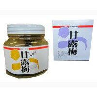 【同梱代引き不可】プラム食品 甘露梅(無着色) こはく 360g 3個セット