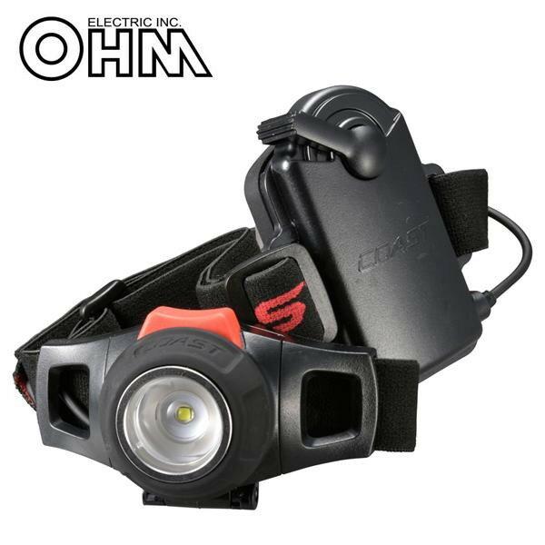 オーム電機 OHM LEDフォーカスヘッドライト COAST HL7