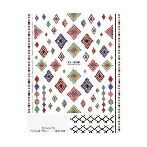 TSUMEKIRA(ツメキラ) ネイルシール es FUNSIDEプロデュース Azilal tribe ES-FNS-102