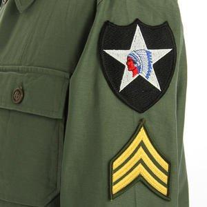 ジョンレノンModel 米軍 OG-107 ファティーグシャツ 長袖 JS086YNJR 13 1/2サイズ(レディースフリー)