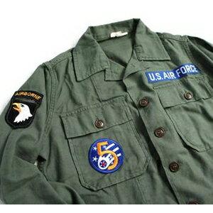 """アメリカ軍 OG-107 ファティーグシャツ/長袖  柄/AIR FORCE """"B"""""""