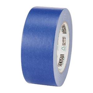 (業務用セット) セキスイ カラークラフトテープ No.500カラー K50WA13 青 1巻入 【×5セット】