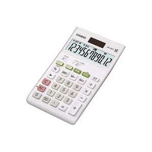 (業務用20セット) カシオ CASIO W税率電卓ジャストサイズ12桁 JW-200T-N