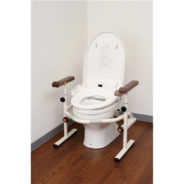 パナソニックエイジフリーライフテック トイレ用手すり 洋式トイレ用スライド手すり(ステンレス) PN-L53001:BKワールド