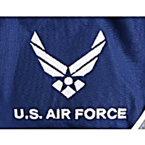 アメリカ空軍放出AIR FORCE防水、防風加工ジムジャケット未使用デットストック XS‐ロング