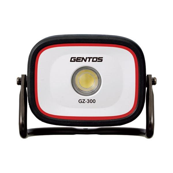 (まとめ)ジェントス 充電式投光器 ガンツ GZ-300【×5セット】画像