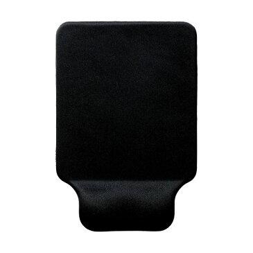 (まとめ)エレコム リストレスト付マウスパッドGEL ブラック MP-GELBK 1枚【×5セット】