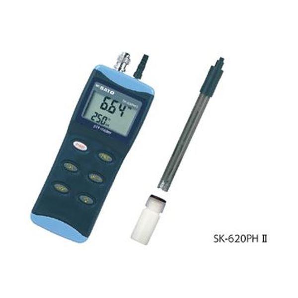 【最安値に挑戦】 ハンディ型pH計 SK-620PHII センサ付, マルヒ 85d12796