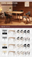【単品】ダイニングテーブル幅150cm北欧デザインダイニング【MARKEY】マーキー