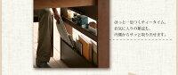 【単品】ダイニングベンチ【Emile】カフェブラウン収納シェルフラック付エクステンションテーブルベンチダイニングシリーズ【Emile】エミール/ベンチ【】