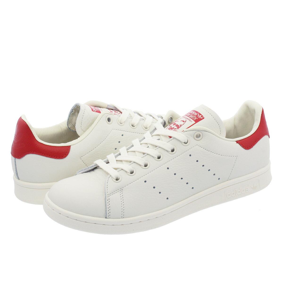 レディース靴, スニーカー SALE adidas STAN SMITH adidas Originals CHALK WHITESCARLET b37898