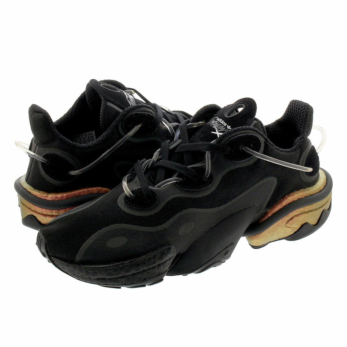 メンズ靴, スニーカー adidas TORSION X X CORE BLACKGRAY SIXBOOST ROSE GOLD METALLIC fv1544
