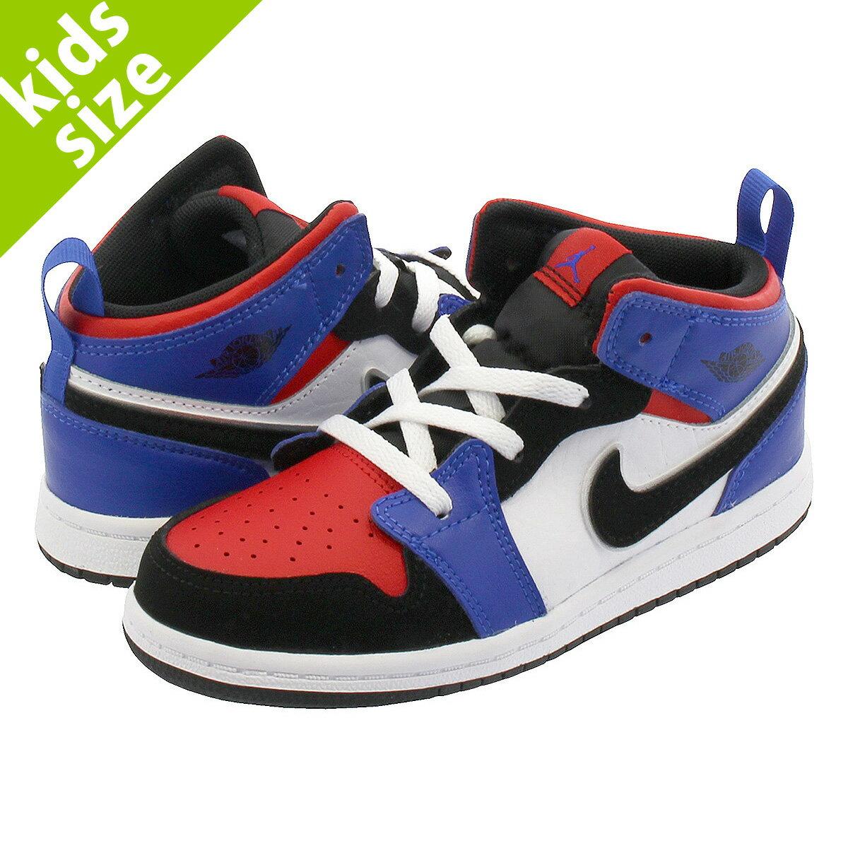 靴, スニーカー 8-16cm NIKE AIR JORDAN 1 MID BT TOP3 1 BT 640735-124