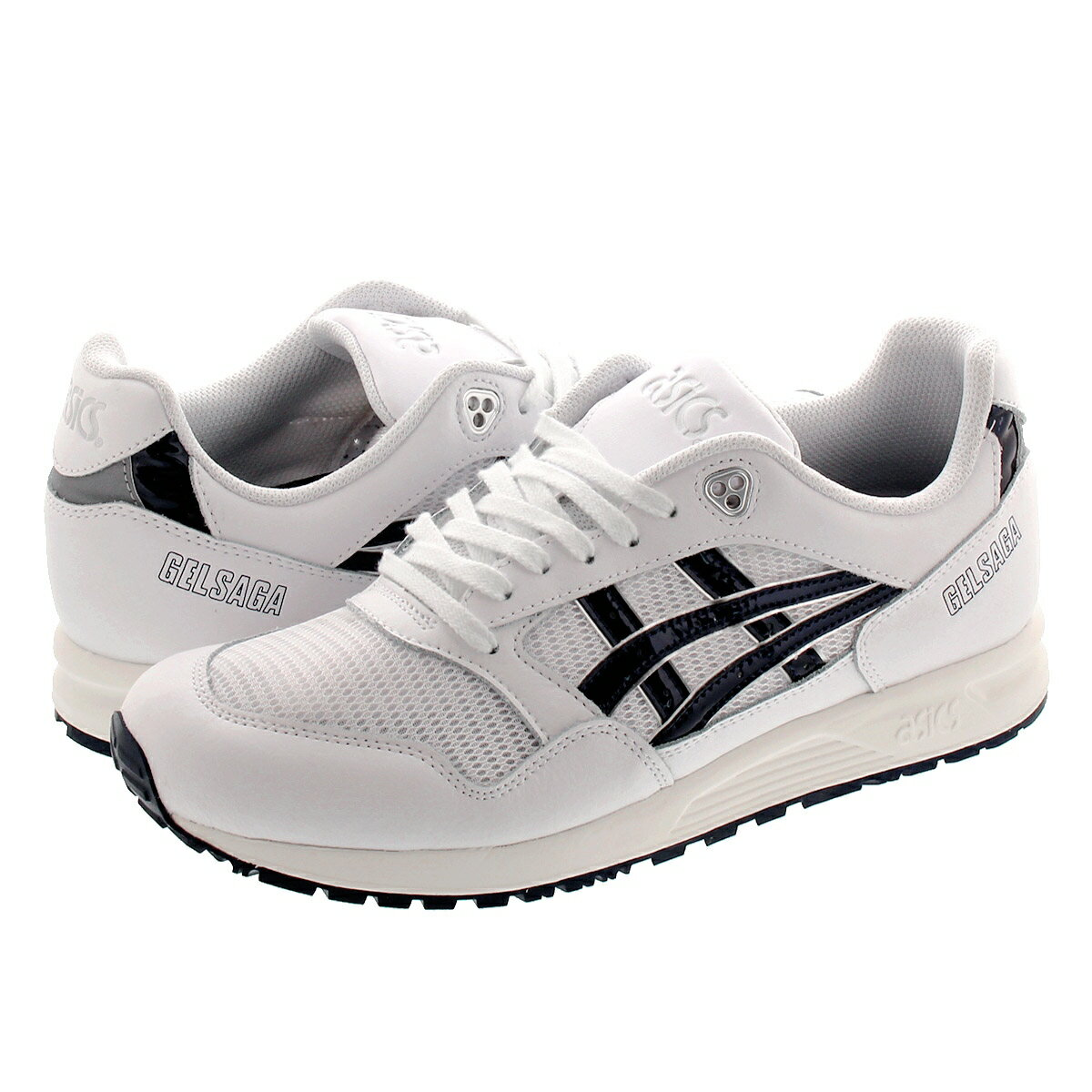 メンズ靴, スニーカー ASICS Tiger GEL SAGA WHITEMIDNIGHT 1191a231-101