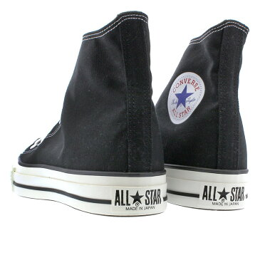 CONVERSE CANVAS ALL STAR J HI 【MADE IN JAPAN】【日本製】 コンバース オールスター J HI BLACK