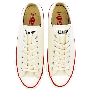 CONVERSE CANVAS ALL STAR J OX 【MADE IN JAPAN】【日本製】 コンバース オールスター J OX NATURAL WHITE