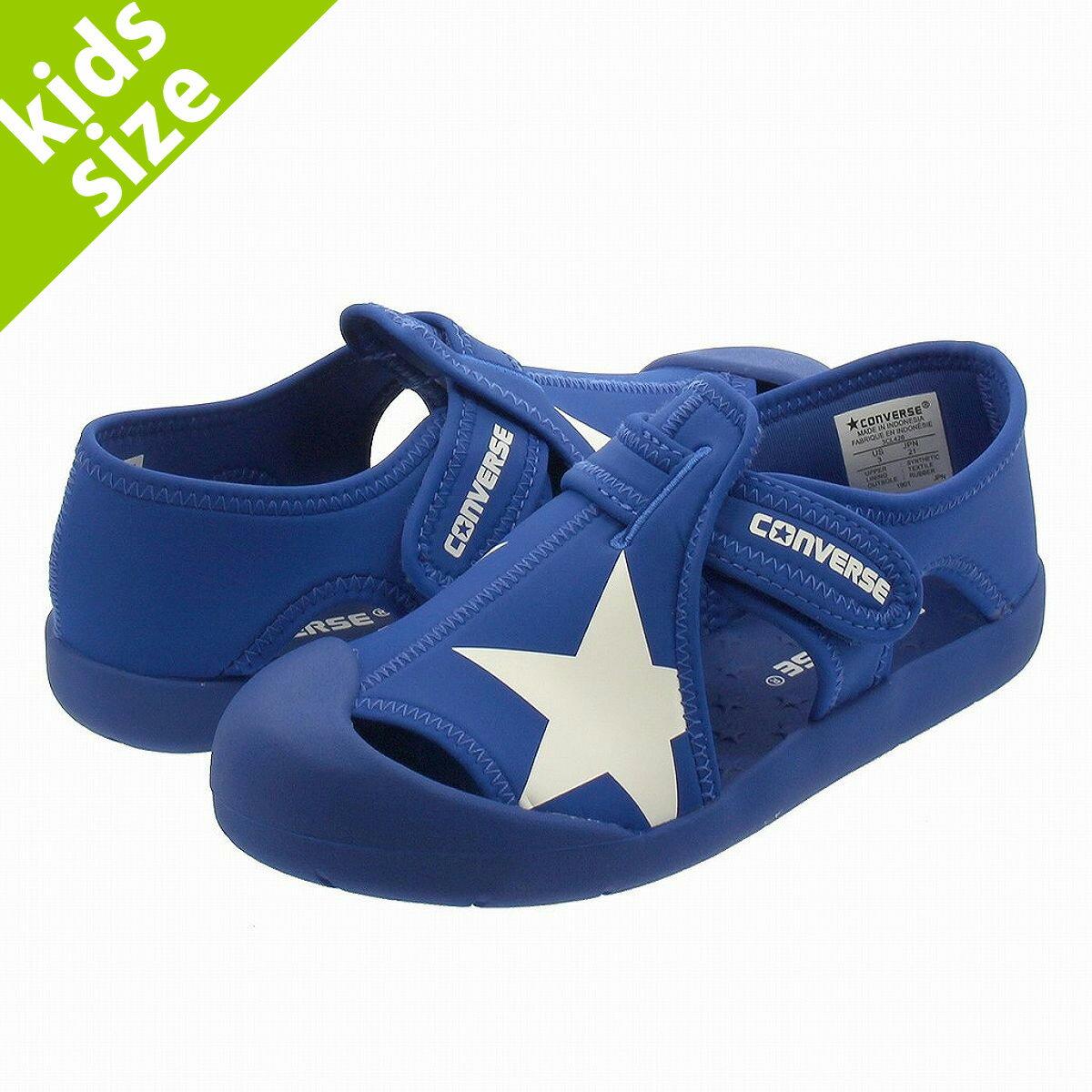靴, サンダル SALE 16.022.0cm CONVERSE KIDS CVSTAR SANDAL CV BLUE 32713476