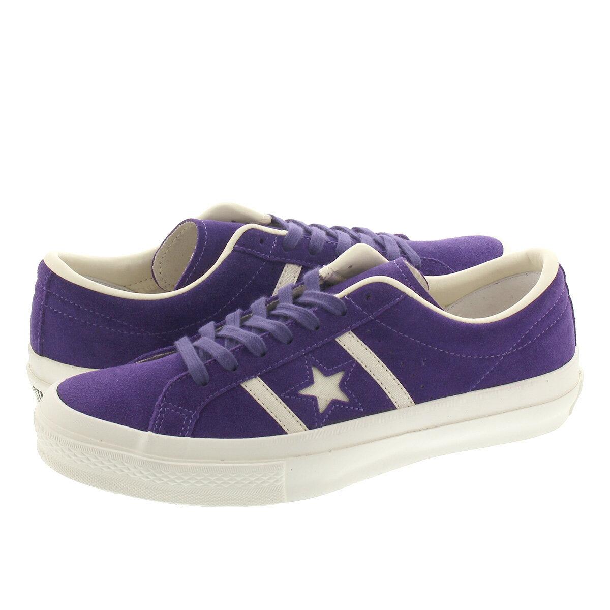 メンズ靴, スニーカー  CONVERSE STARBARS SUEDE PURPLE 35200030