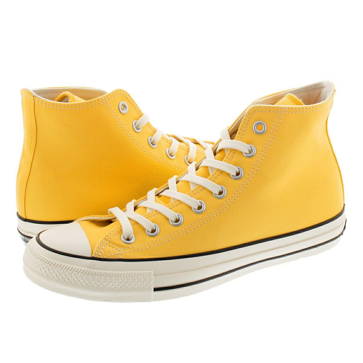 メンズ靴, スニーカー 1210() CONVERSE ALL STAR 100 COLORS HI 100 YELLOW 31301312