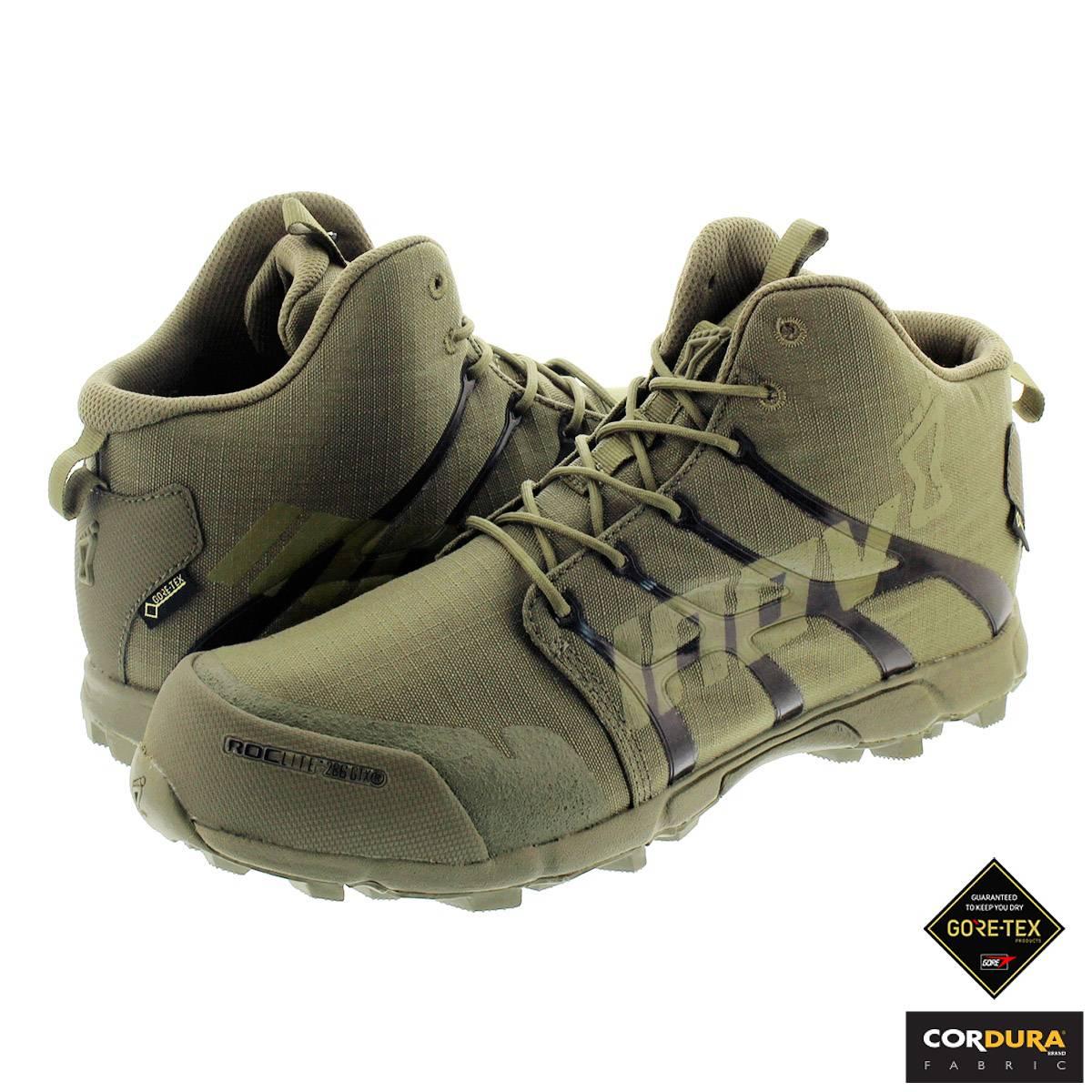 メンズ靴, スニーカー inov-8 ROCLITE 286 GTX CD 286 CD DARK OLIVE no1ogg18dv