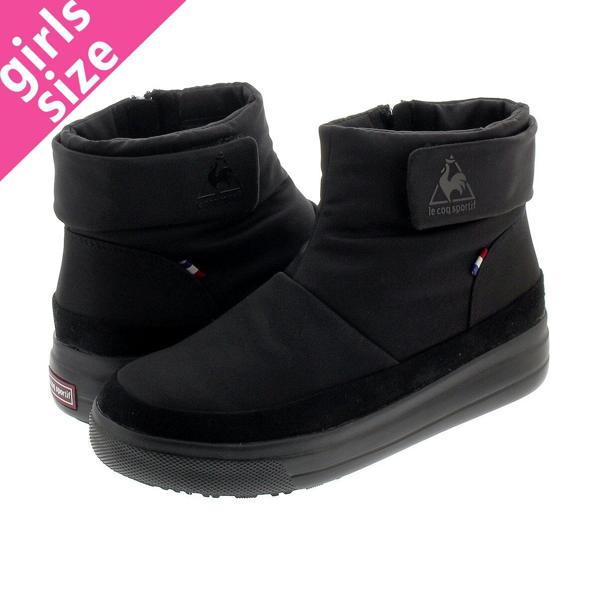レディース靴, ブーティ le coq sportif TELUNA BB SMART LO BB BLACK ql3ojd81bk