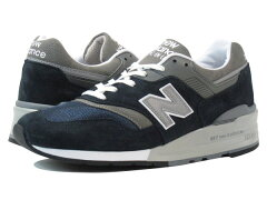 【送料無料】【NEWBALANCE ニューバランス】NBの鉄板カラー【ネイビー x グレー 】を施した【M9...